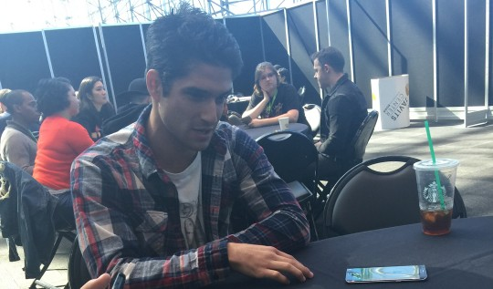 New York Comic Con Tyler Posey Teen Wolf