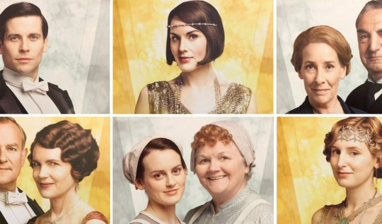 Downton Abbey Character Cards