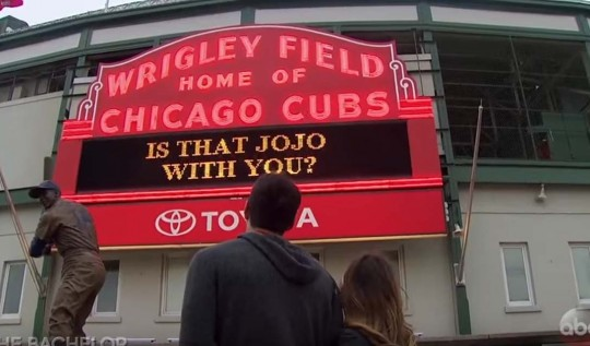 JoJo and Ben go on a date to Wrigley Field.