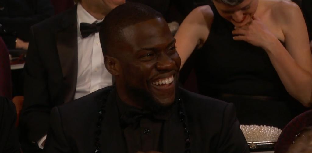Kevin Hart at the Oscars