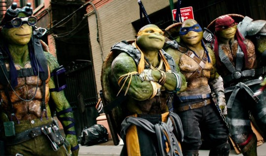 TMNT 2 Out of the Shadows