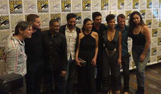 The Expanse Syfy Cast