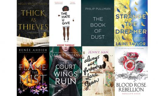 YA Books Anticipated 2017