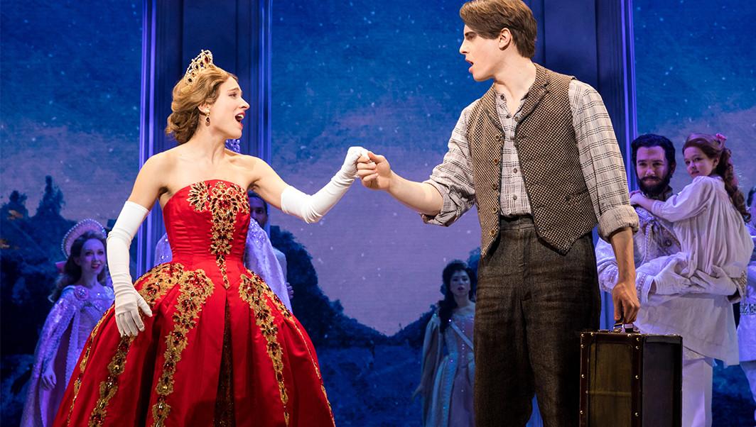 Derek Klena in Anastasia