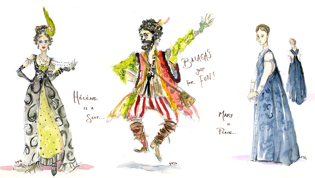 The Great Comet Costumes