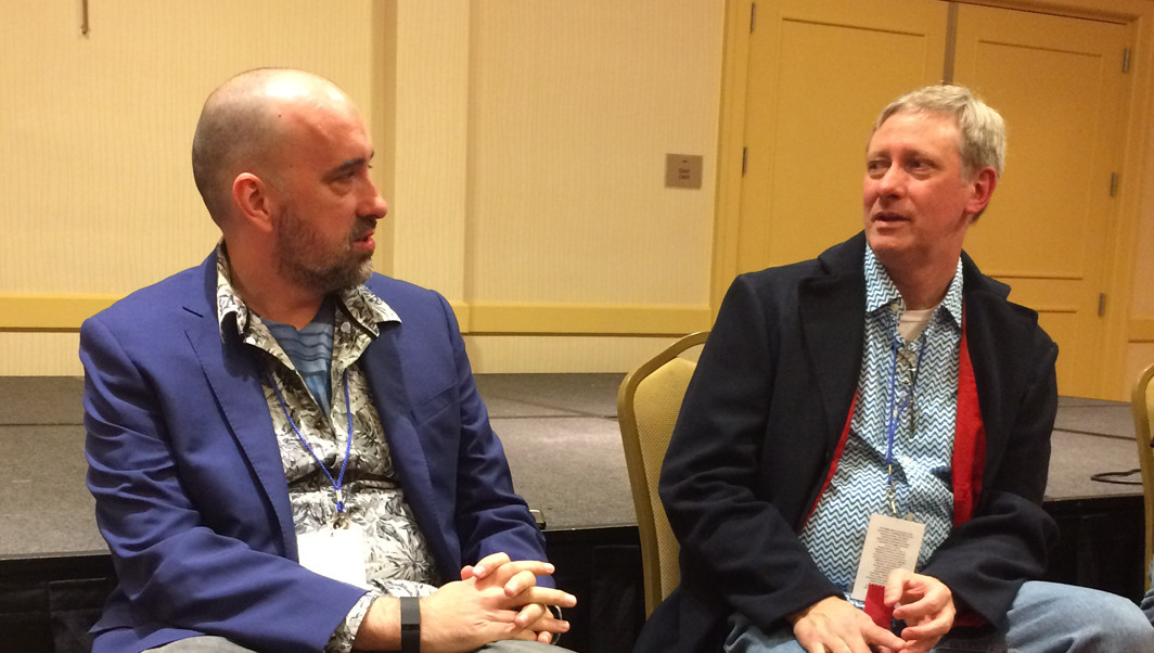 WHOlanta Director R. Alan Siler chats with Doctor Who writer Jamie Mathieson