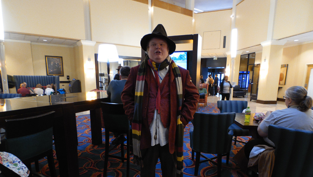 Fourth Doctor Cosplay was a popular look at WHOlanta
