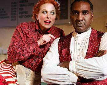 Sweeney Todd Carolee Carmello Norm Lewis