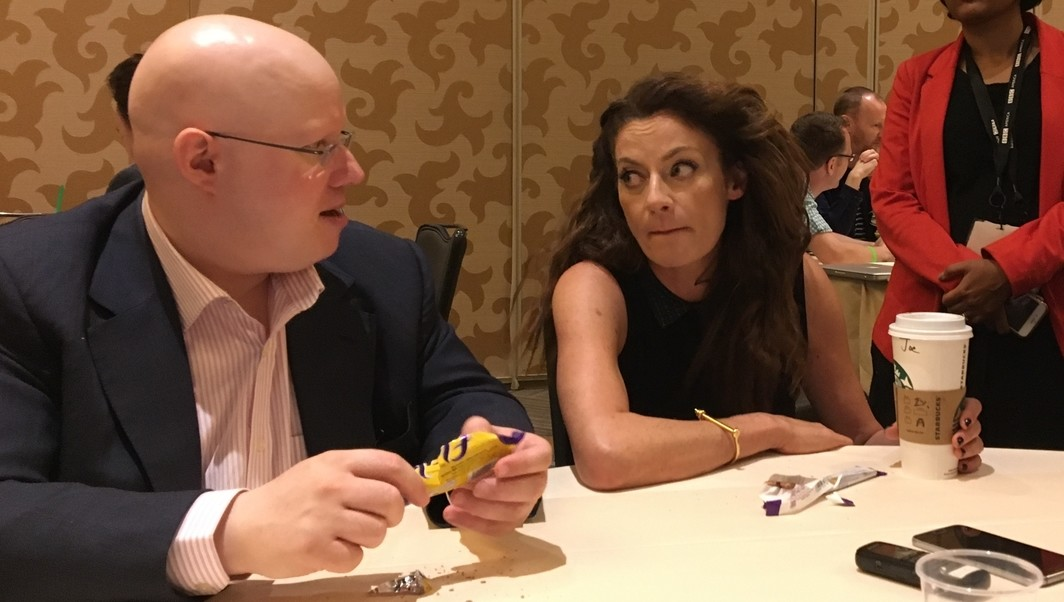 Matt Lucas Michelle Gomez Doctor Who SDCC