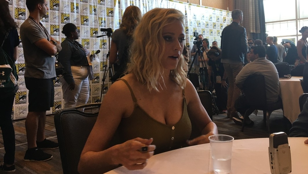 Olivia Taylor Dudley The Magicians SDCC 2017