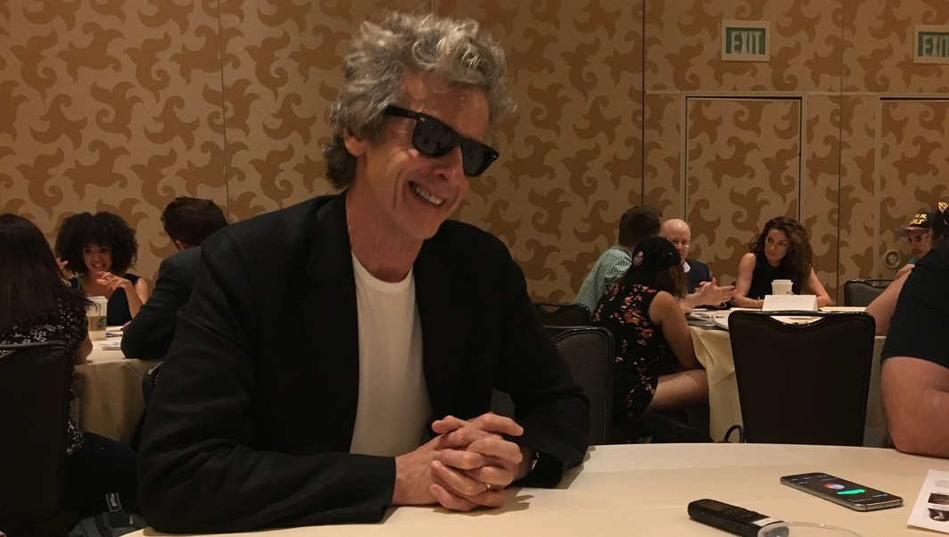 Peter Capaldi Doctor Who SDCC