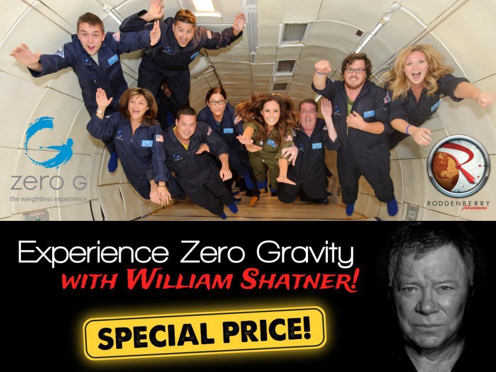 Zero-G William Shatner
